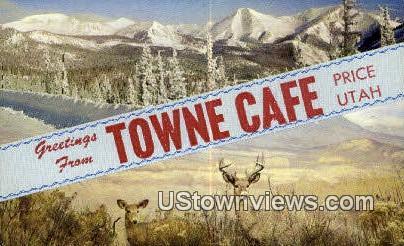 Towne Cage - Price, Utah UT Postcard