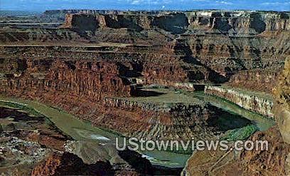 Dead Horse Point State Park, Utah     ;     Dead Horse Point State Park, UT Postcard