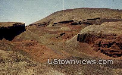 Craters - Fillmore, Utah UT Postcard