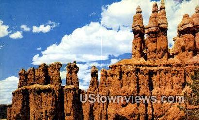Three Wise Men - Bryce Canyon National Park, Utah UT Postcard