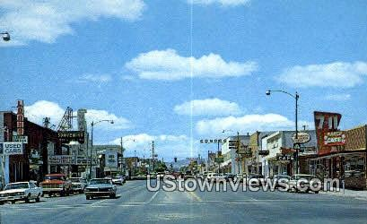 Main Street - Vernal, Utah UT Postcard
