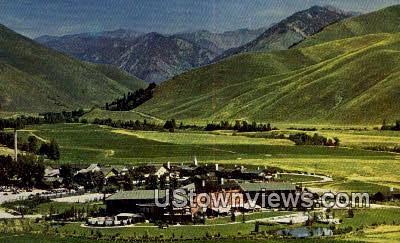 Sun Valley Village - Penny Mountain, Utah UT Postcard
