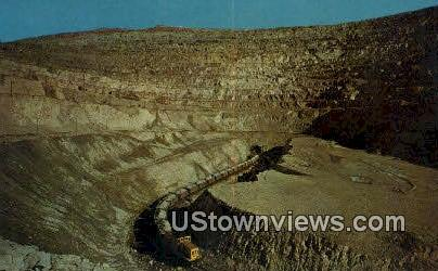 Bingham Copper Mine, Utah     ;     Bingham Copper Mine, UT Postcard