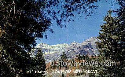 Alpine Loop - Provo, Utah UT Postcard
