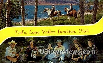 Long Valley Junction, Utah     ;     Long Valley Junction, UT Postcard