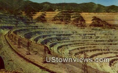 Bingham Copper Mine - Salt Lake City, Utah UT Postcard