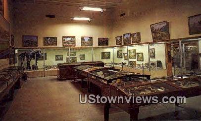 Geology & Fossil Hall - Vernal, Utah UT Postcard