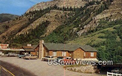 Zanavoo Lodge - Logan Canyon, Utah UT Postcard