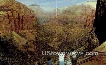 Mt Carmel - Zion National Park, Utah UT Postcard