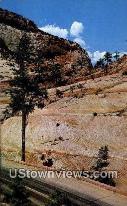 White Arch - Zion National Park, Utah UT Postcard