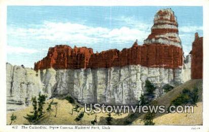 Cathedral - Bryce Canyon National Park, Utah UT Postcard