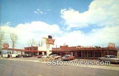Flying M Caf» - Panguitch, Utah UT Postcard