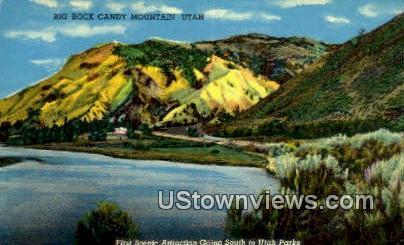 Big Rock Candy Mountain, Utah     ;     Big Rock Candy Mountain, UT Postcard