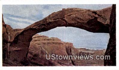 Landscape Arch - Arches National Monument, Utah UT Postcard