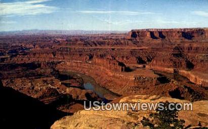 Colorado River, Dead Horse Point - Moab, Utah UT Postcard