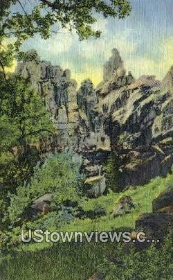 Brush Creek Gorge - Vernal, Utah UT Postcard
