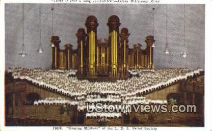 L.D.S. Relief Society - Salt Lake City, Utah UT Postcard