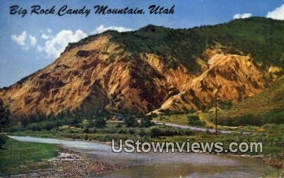 Big Rock Candy Mountain, Utah, UT, Postcard