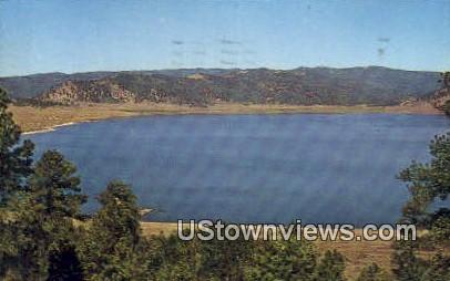 Panguitch Lake - Utah UT Postcard