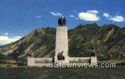 This is the Place Monument - Salt Lake City, Utah UT Postcard