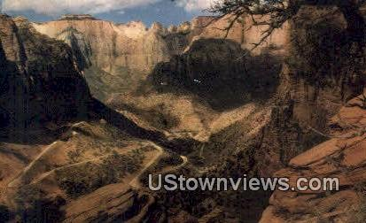 Union Oil Company - Zion Canyon, Utah UT Postcard