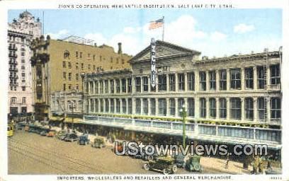 Operative Mercantile Institution - Salt Lake City, Utah UT Postcard