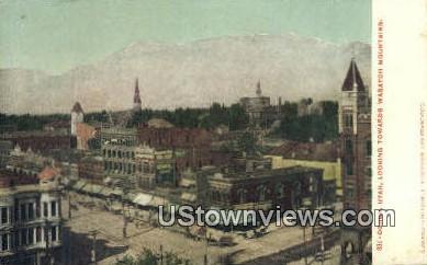 Wasatoh Mountains - Ogden, Utah UT Postcard