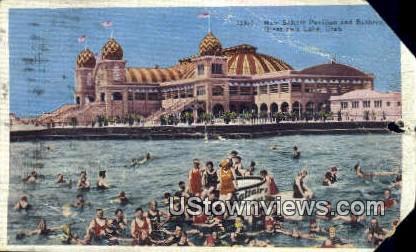 New Saltair Pavilion - Great Salt Lake, Utah UT Postcard
