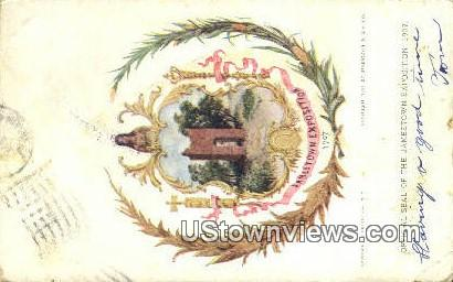 Jamestown Exposition, 1907 - Misc, Utah UT Postcard