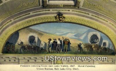 Union Station - Salt Lake City, Utah UT Postcard