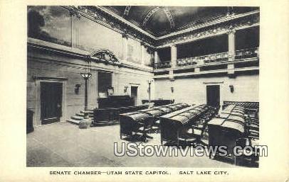 Utah State Capitol - Salt Lake City Postcard