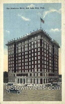 Newhouse Hotel - Salt Lake City, Utah UT Postcard