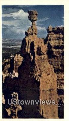 Bryce Canyon - Bryce Canyon National Park, Utah UT Postcard
