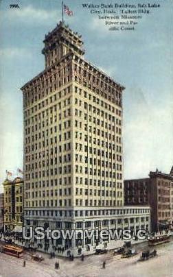 Walker Bank Bldg - Salt Lake City, Utah UT Postcard