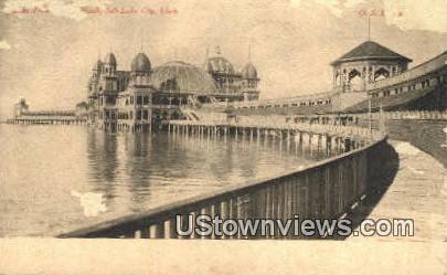 Saltair Beach - Salt Lake City, Utah UT Postcard