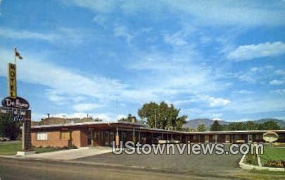Delano Motel - Beaver, Utah UT Postcard
