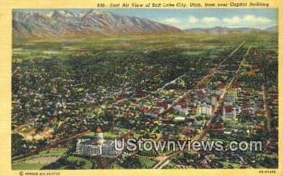 Capitol Bldg - Salt Lake City, Utah UT Postcard