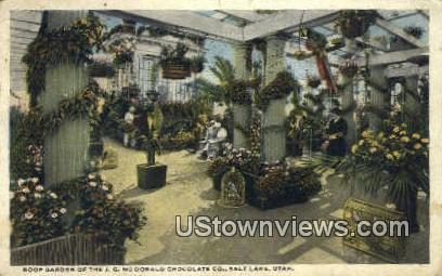 J.G. McDonald Chocolate Co - Salt Lake City, Utah UT Postcard