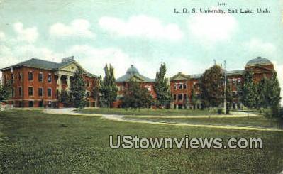 L.D.S. University - Salt Lake City, Utah UT Postcard