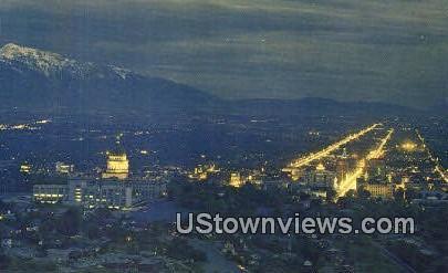 State Capt - Salt Lake City, Utah UT Postcard