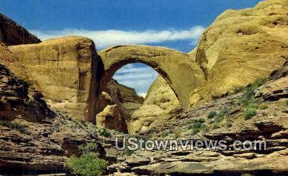 Rainbow Natural Bridge - Misc, Utah UT Postcard