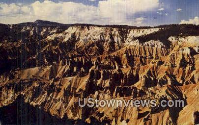 Cedar Breaks National Monument, Utah, UT, Postcard
