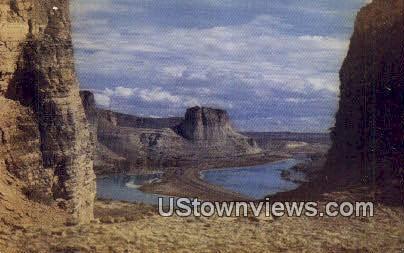 Western Cliffs - Misc, Utah UT Postcard