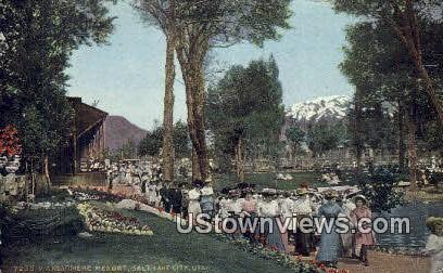 Wandarmere Resort - Salt Lake City, Utah UT Postcard
