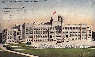 New East Side High School - Salt Lake City, Utah UT Postcard