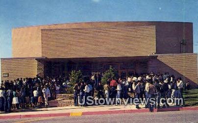 Intermountain School Aud. - Brigham City, Utah UT Postcard