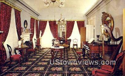 Long Hall, Beehive House - Salt Lake City, Utah UT Postcard
