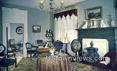 Sitting Room, Beehive House - Salt Lake City, Utah UT Postcard