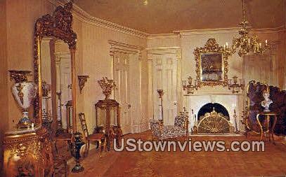 Gardo Room, Beehive House - Salt Lake City, Utah UT Postcard