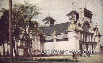 Mormon Tabernacle - Ogden, Utah UT Postcard
